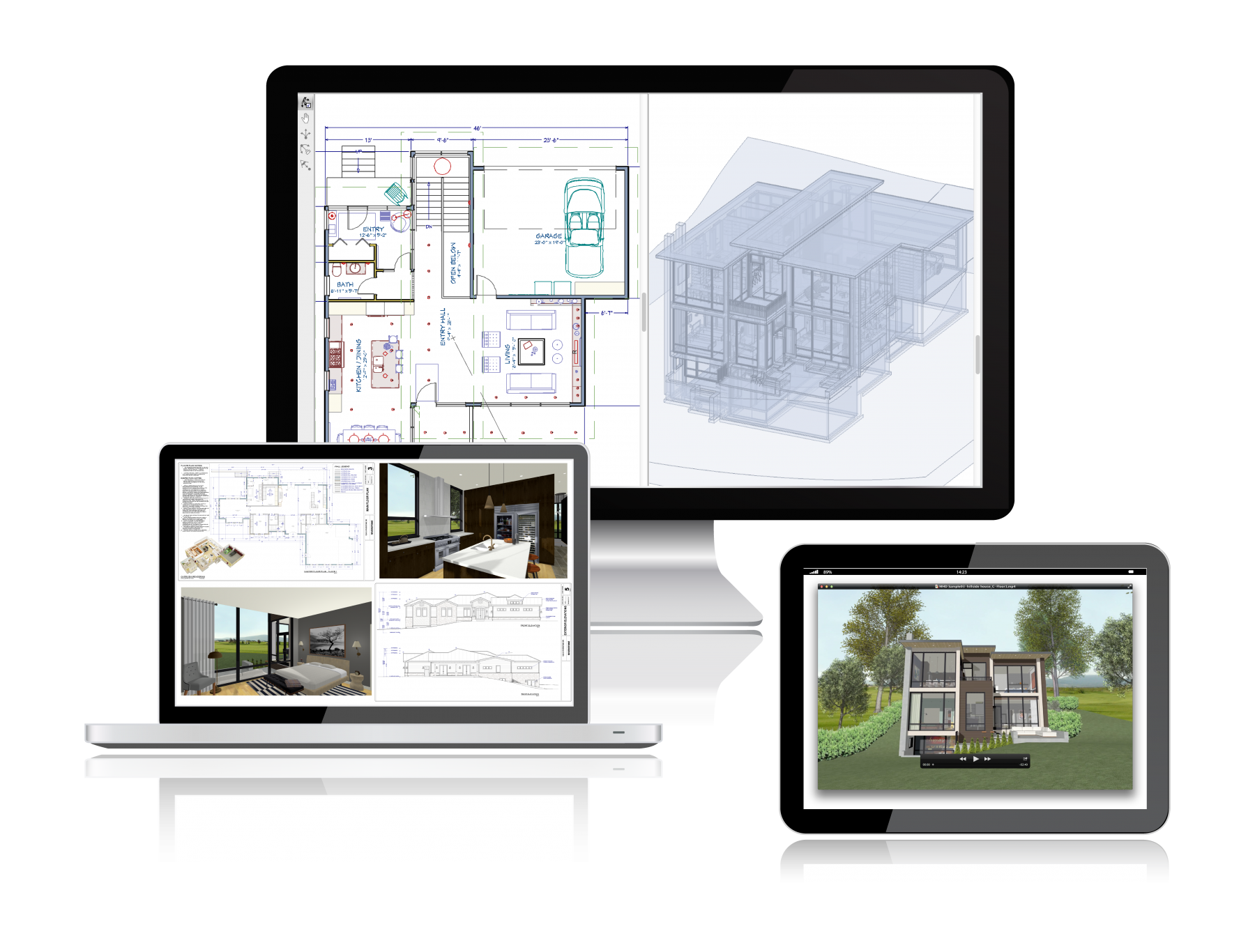 Michael Hanna Design - 3D Home Design and Architectural Modeling