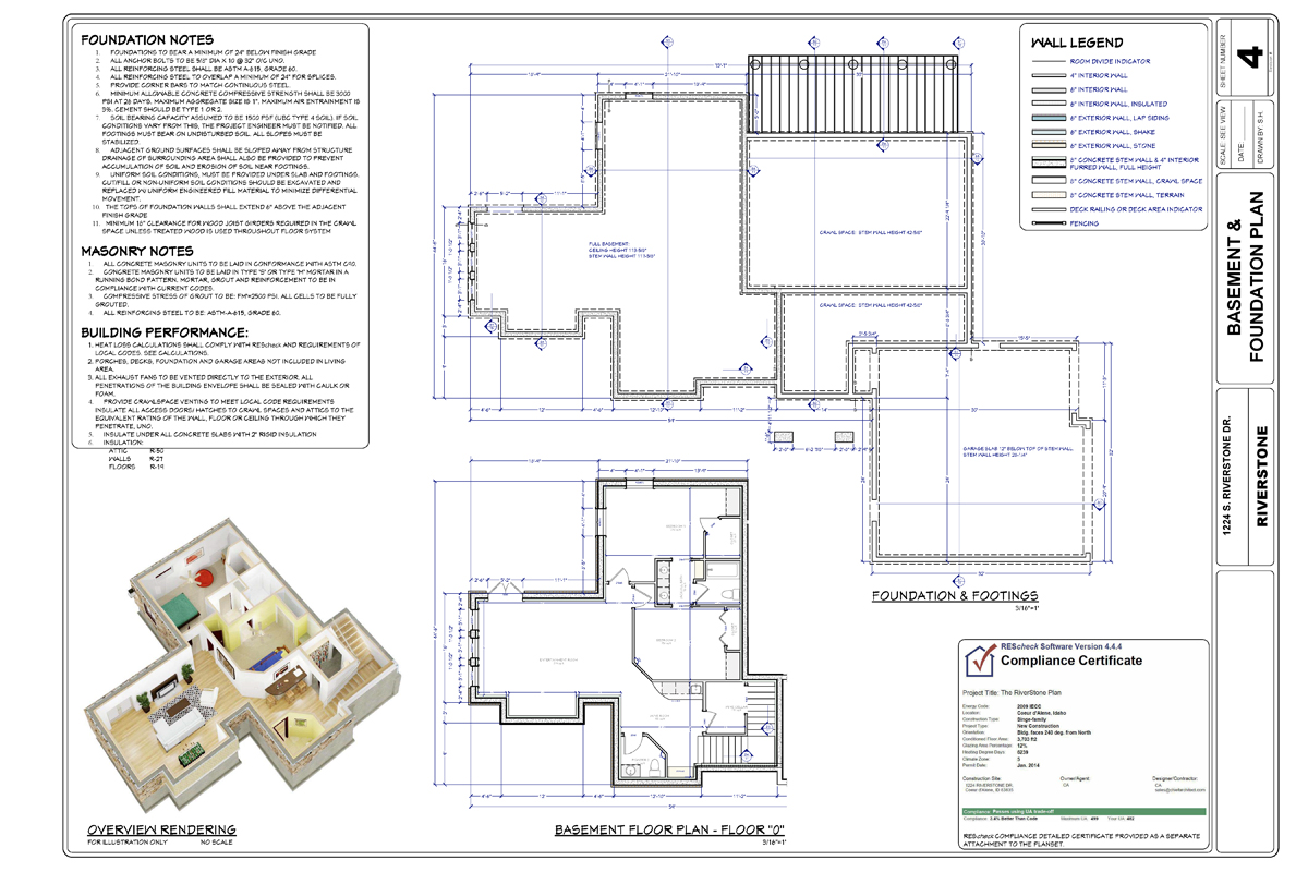 Sample Plans And Layouts